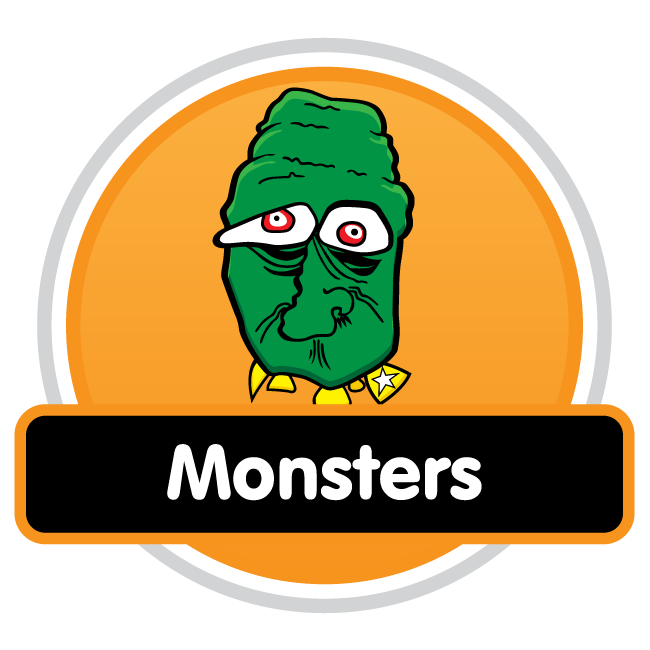 Monsters - Cartoon Characters